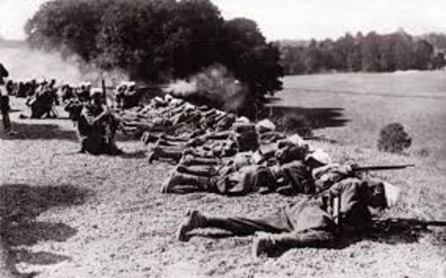 Germany launched first of its final three offensives on the Western Front.