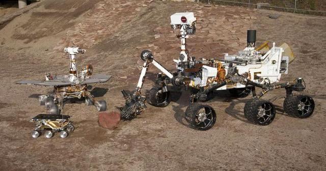 robots gemelos espaciales