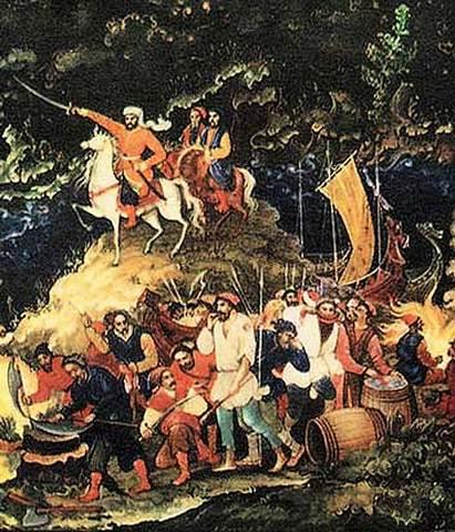 Восстание под предводительством С.Т.Разина- 1670–1671гг.