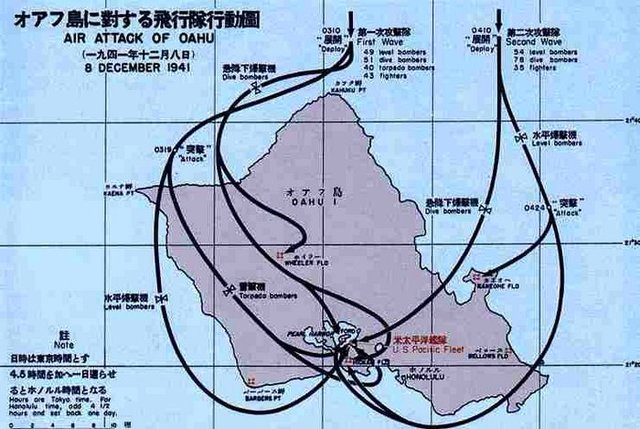 Japan startes planning attack