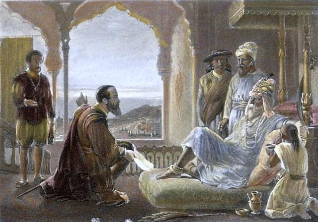 Vasco da gama reaches India