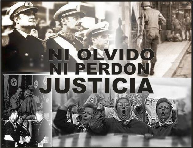 Dictadura militar en Argentina.