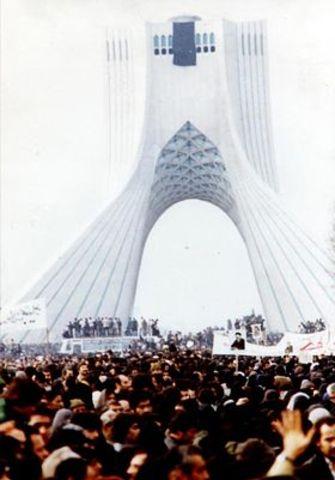 Revolución iraní.