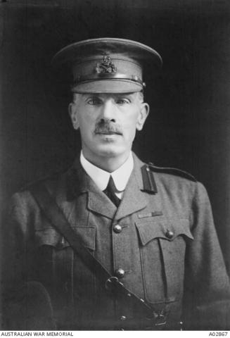 Major-General William Throsby Bridges