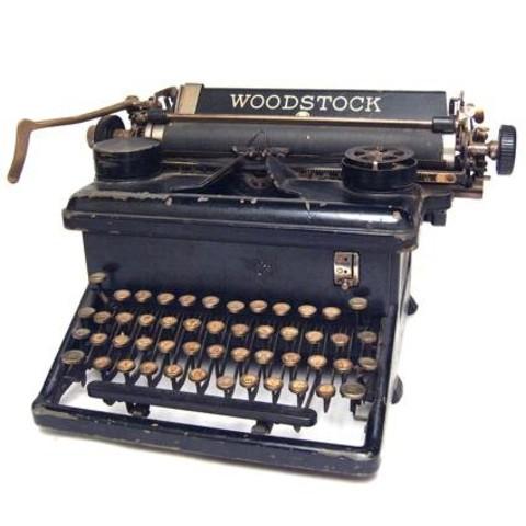 Primera maquina de escribir