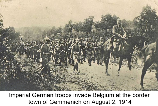 Germany Declares War on France and Belgium
