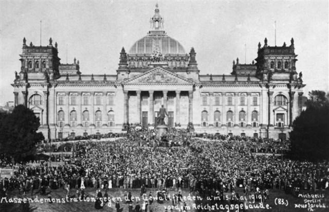 Peace conference met at Paris, 1919