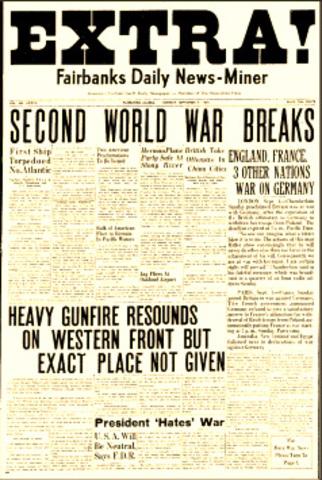 Beggining of World War II