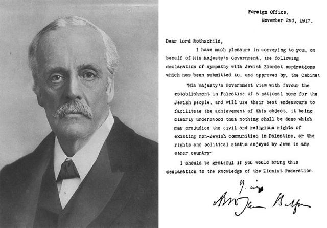 Balfour Declaratoin of 1917
