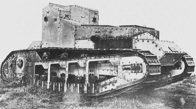 The First tank Battle