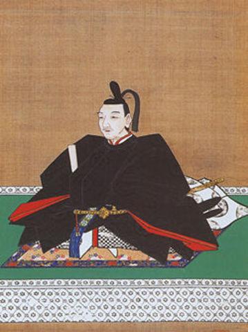Tokugawa Ieyasu allies with Oda Nobukatsu