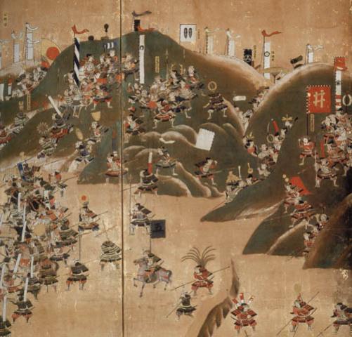 Tokugawa Ieyasu allies with Hideyoshi