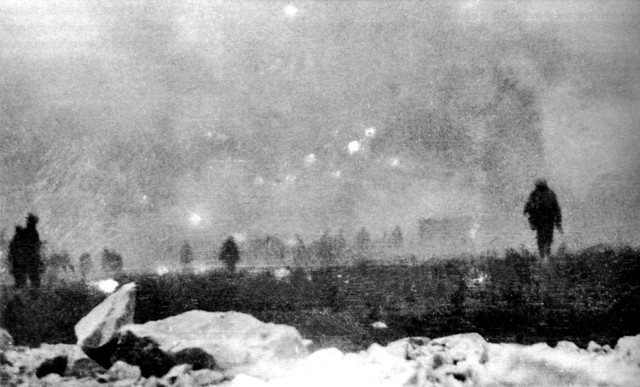 Start of the battle of Loos