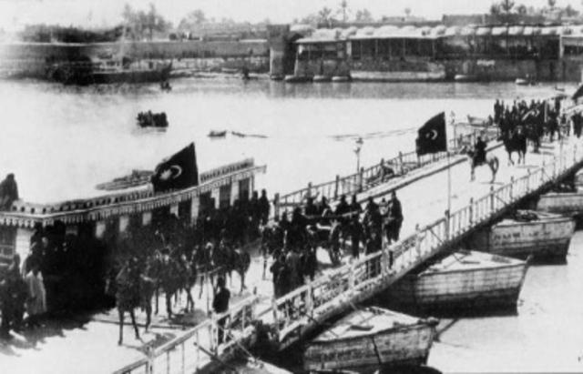 British forces surrender to Turkish