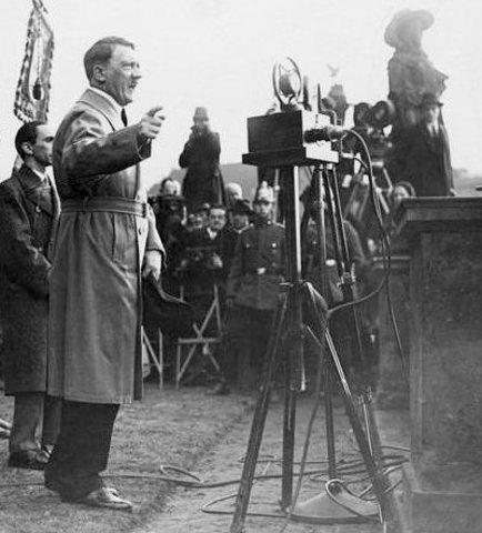 Adolf Hitler ran for precidency.