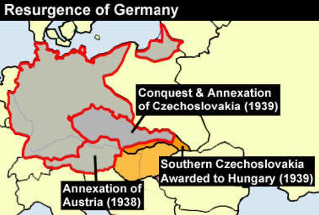 Adolf Hitler's appeasment.