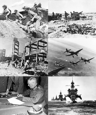 World War Two started.
