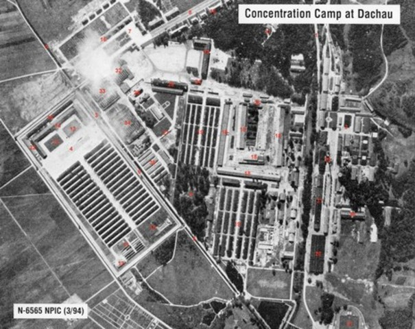 First Nazi Concentration Camp Opened
