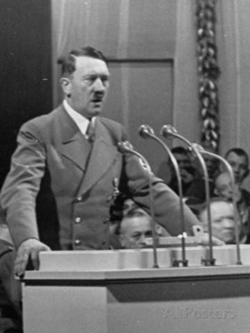 Runs for President of Germany against Hindenberg