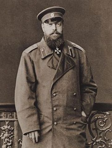 Russian Tszars imposing oppression to Jews.