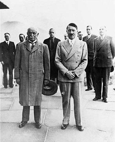 Adolf Hitler appointed president.