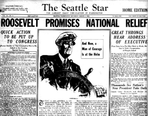 Roosevelt is Elected President