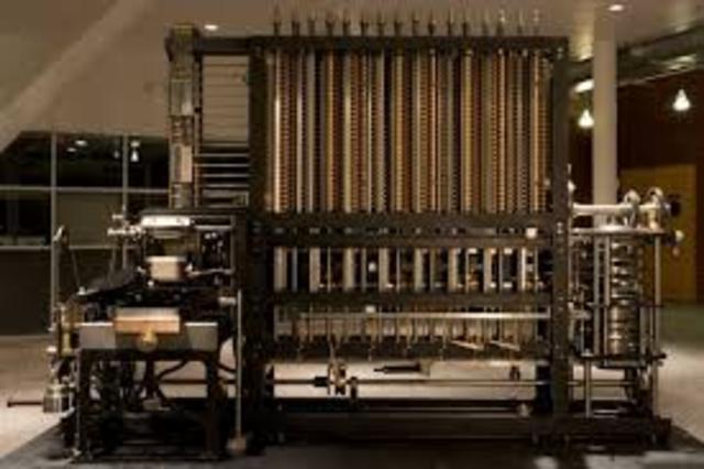 Máquina en diferencias 1822-1837