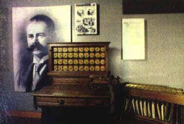 Máquina censadora de Hollerith 1879-1885