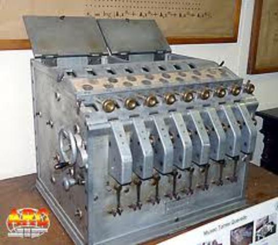 Máquina Algebraíca de Leonardo Torres