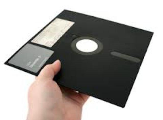 disquete de 8 pulgadas