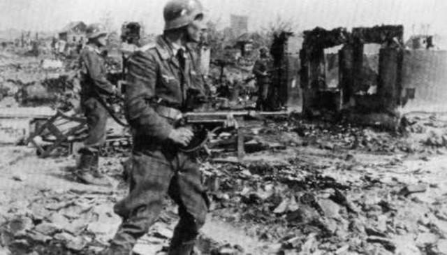 Gran fracaso de Hitler en Stalingrado.