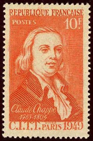 Claude Chappe, Precursor del Telégrafo y la Fibra Óptica