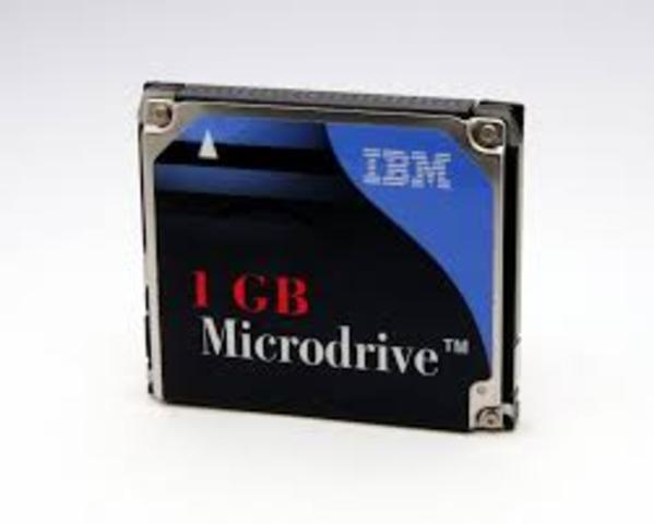 microdrive de IBM