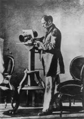 Invento precursor de la copia fotografica