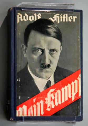Hitlers book written in Jail