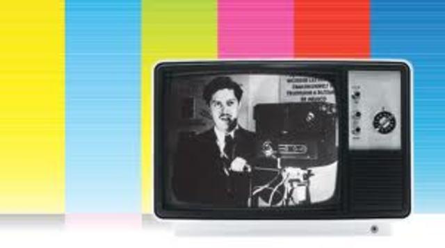 Invención de televisión a color