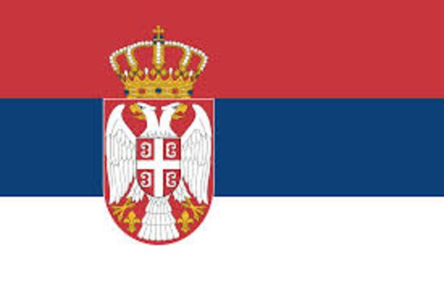 Serbia declare war on Germany
