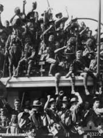 Australia capture German New Guniea