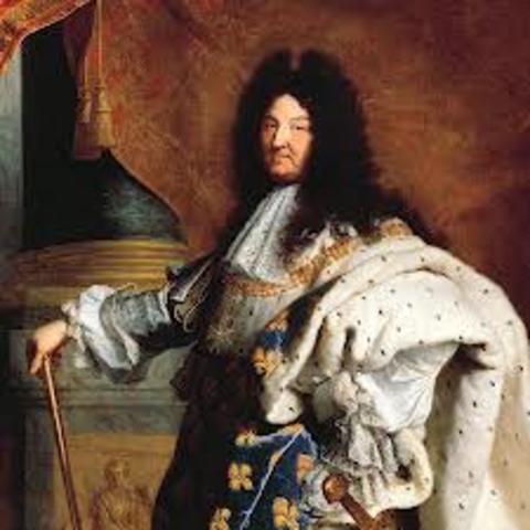King Louis 14