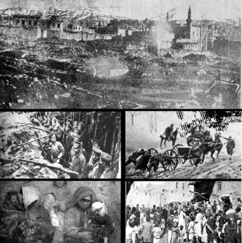turkish forces broke down