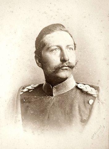 Kaiser William II resigned