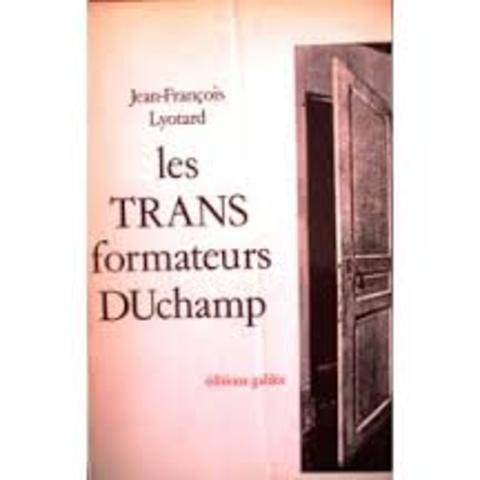 Les Transformateurs Duchamp