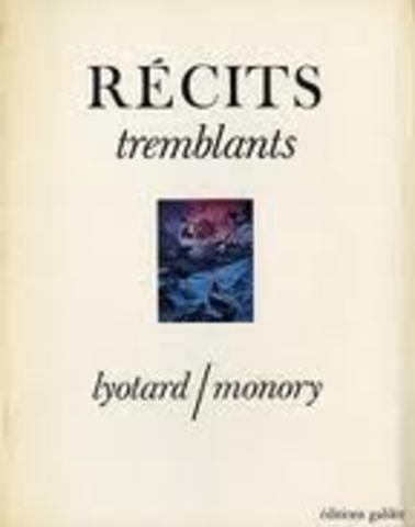 Récits tremblants, avec Jacques Monory