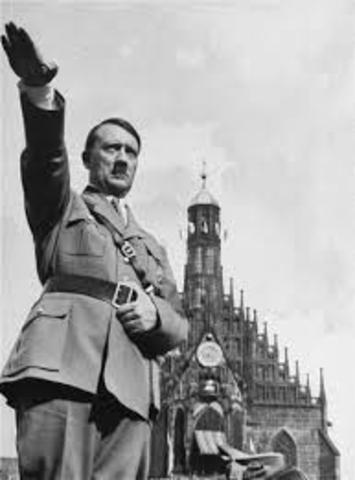 Adolf Hitler runs for president of Germany