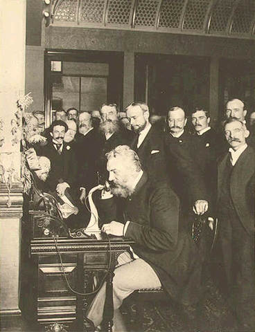 PATENTE DEL TELÉFONO, ALEXANDER GRAHAM BELL vs ELISHA GRAY