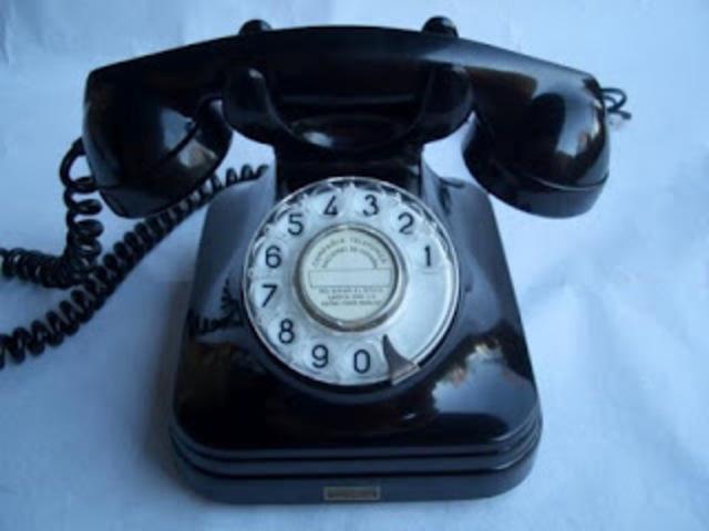 TELÉFONO BAKELITA