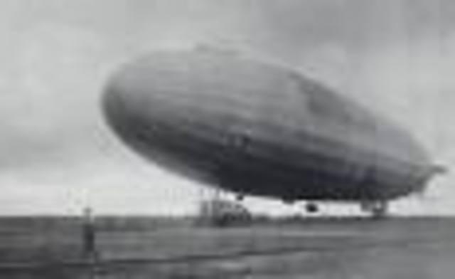 First German Air Raid