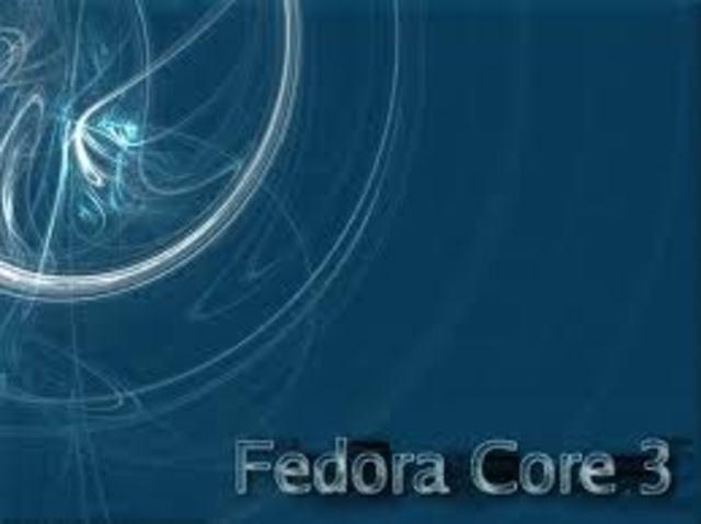 Fedora Core 3