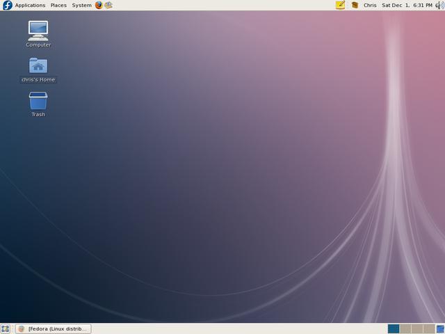 Fedora 8