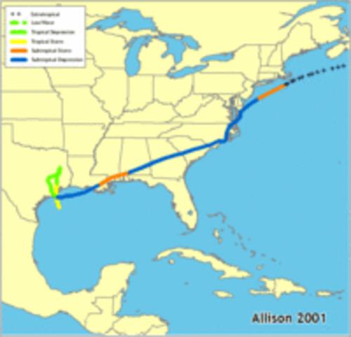 Tropical Storm Allison 2001